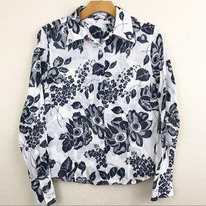 Tommy Hilfiger | women's floral button down shirt